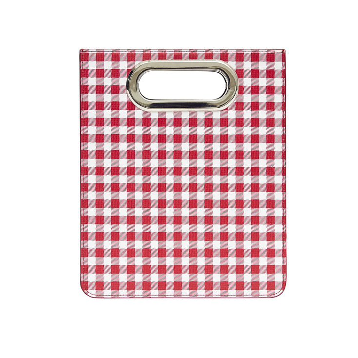 Gingham Red Toast Bag