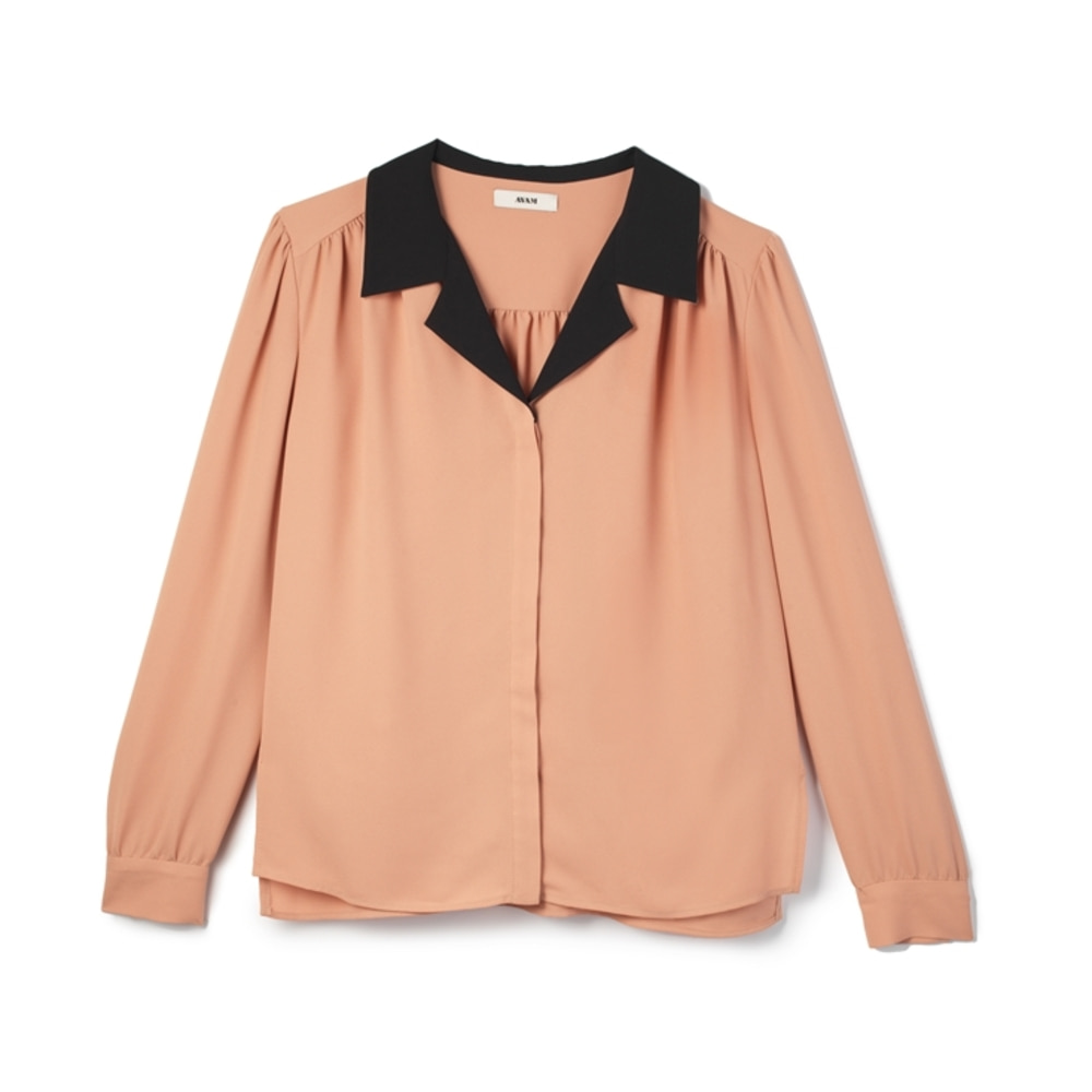 Minuit Blouse Peach
