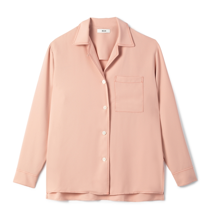New Sarah Shirt  Dusty pink