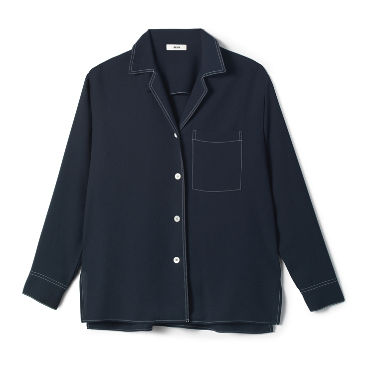 New Sarah Shirt  Navy