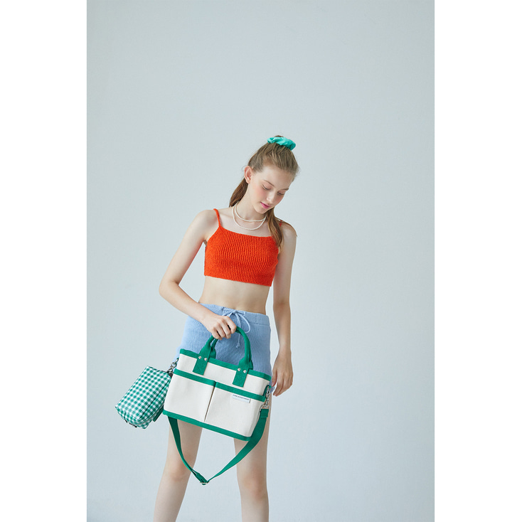 19 SUMMER GREEN TUMBLER BAG