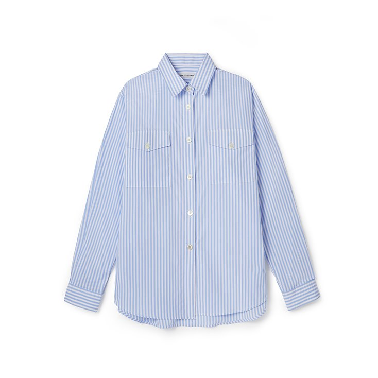 Two Pocket Stripe Shirt
