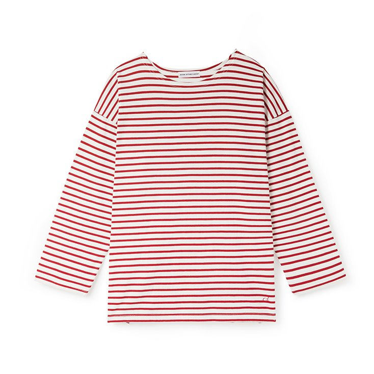 Avamappartement Stripe T-Shirt